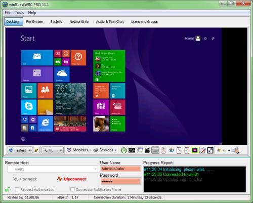 Click to view AWRC Pro 12.2 screenshot