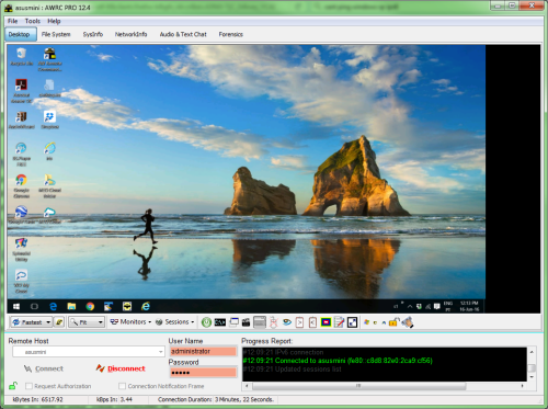 Click to view AWRC Pro 12.5 screenshot