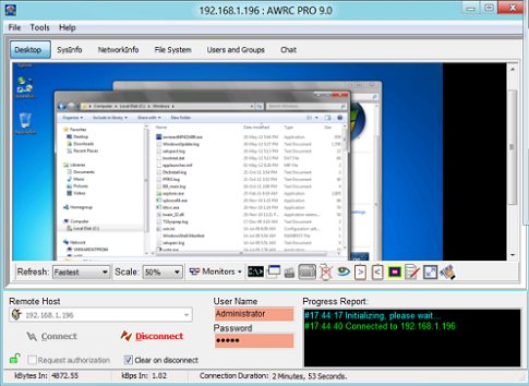 Click to view AWRC Pro 9.2 screenshot