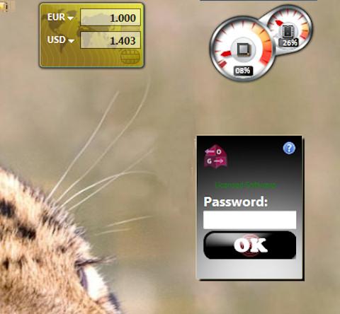 Gadget - Enter Password