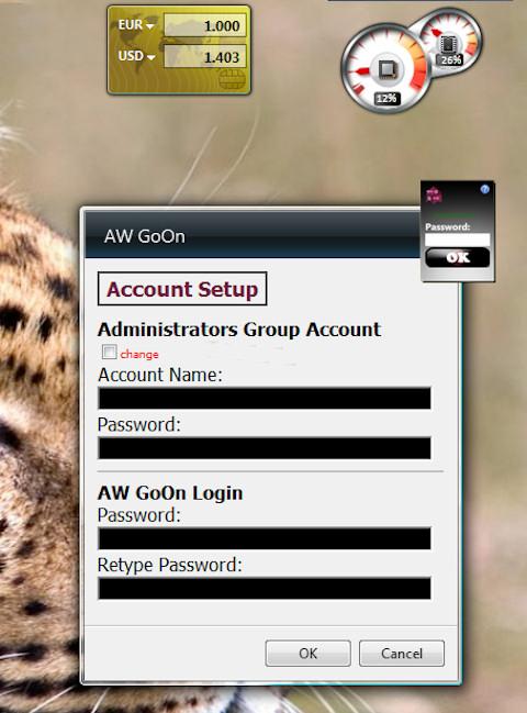 Gadget - Account Setup